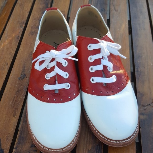 Red and White Saddle Shoes – The Music